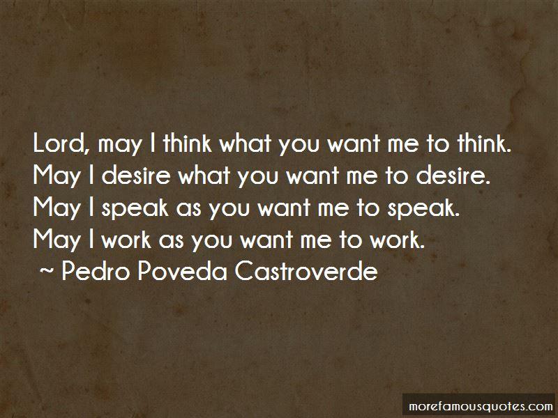Pedro Poveda Castroverde Quotes