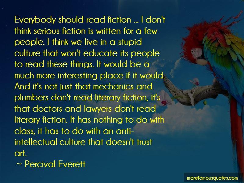 Percival Everett Quotes Pictures 3