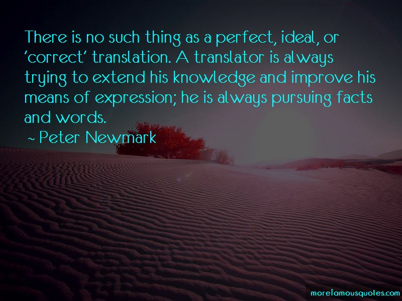 Peter Newmark Quotes Pictures 2
