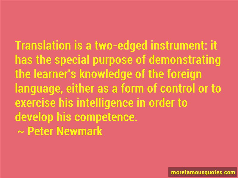 Peter Newmark Quotes Pictures 3