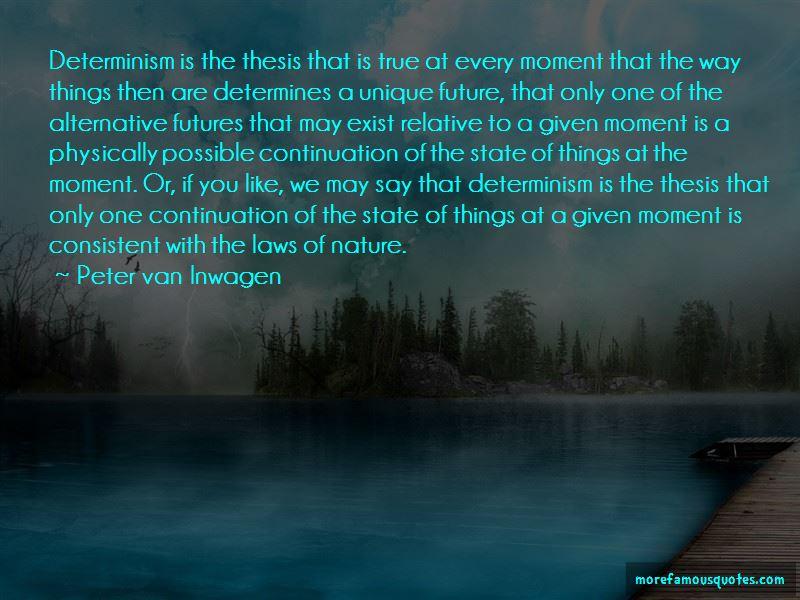 Peter Van Inwagen Quotes Pictures 3