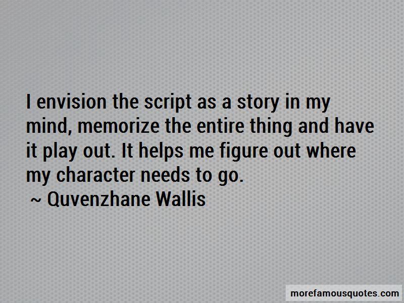 Quvenzhane Wallis Quotes