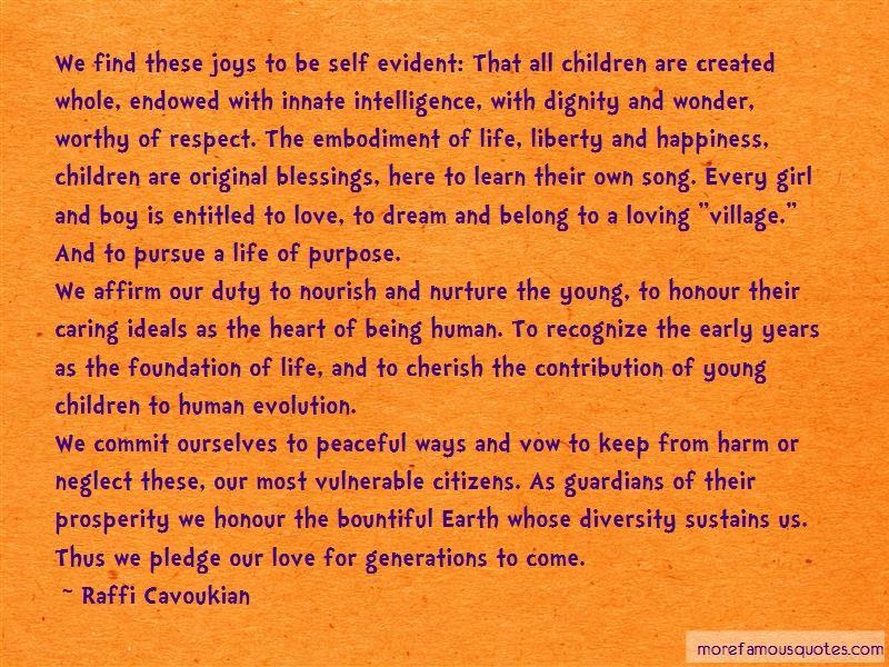 Raffi Cavoukian Quotes Pictures 2