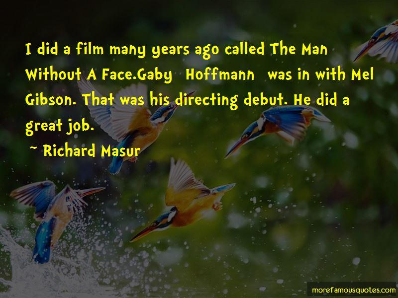 Richard Masur Quotes Pictures 2