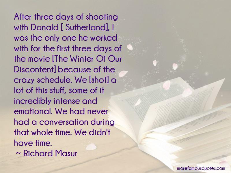 Richard Masur Quotes
