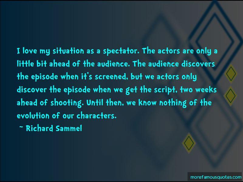 Richard Sammel Quotes