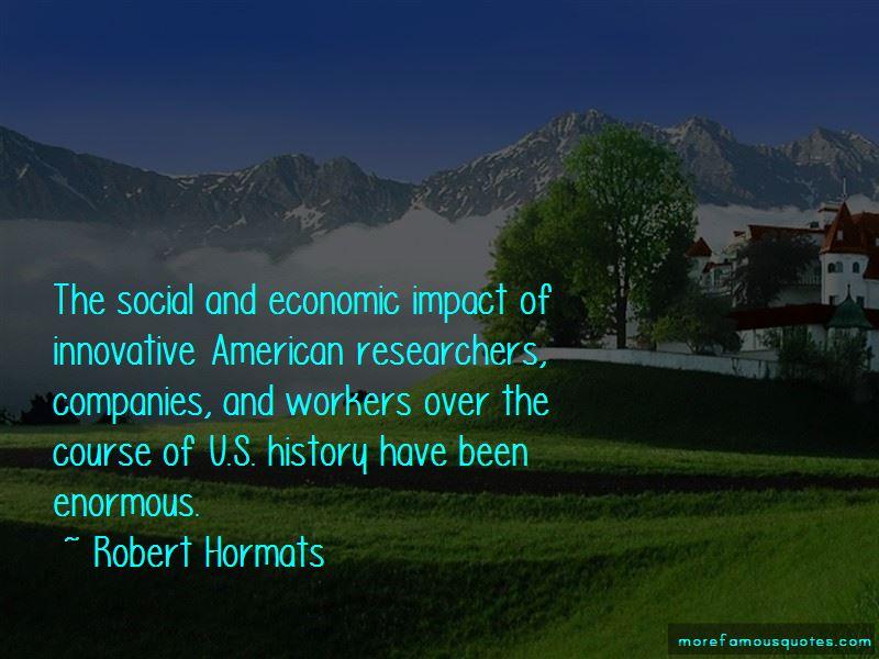 Robert Hormats Quotes Pictures 4
