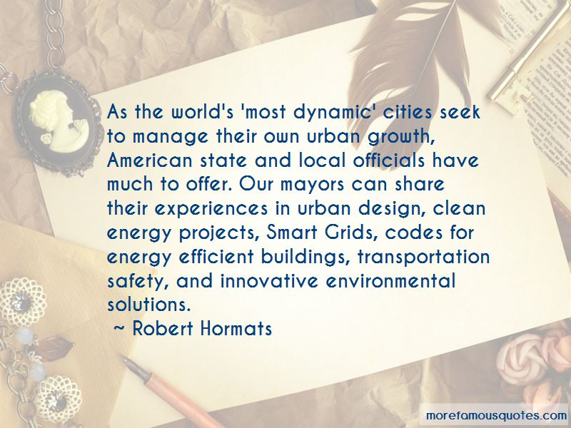 Robert Hormats Quotes