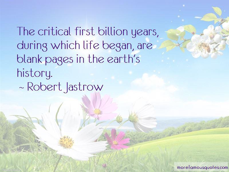 Robert Jastrow Quotes Pictures 3