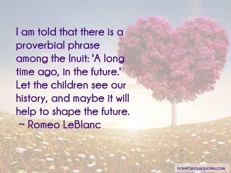 Romeo LeBlanc Quotes Pictures 2