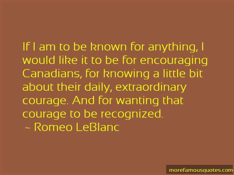Romeo LeBlanc Quotes Pictures 3