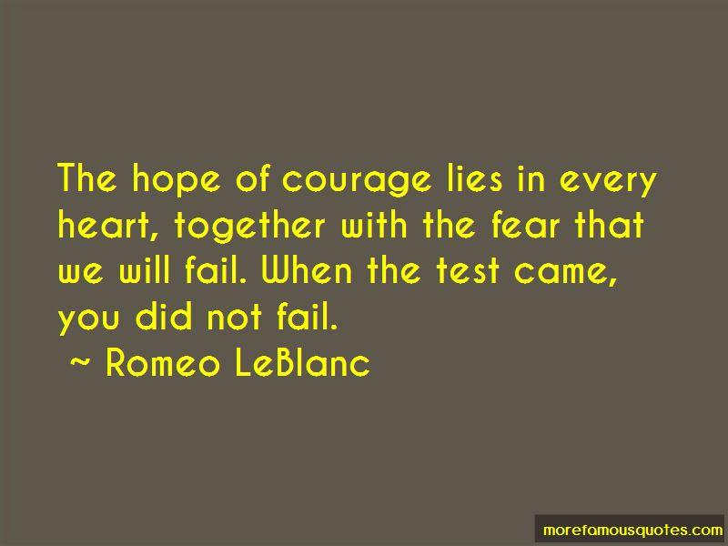 Romeo LeBlanc Quotes Pictures 4