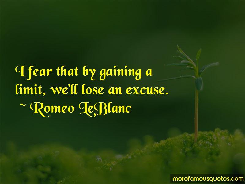 Romeo LeBlanc Quotes