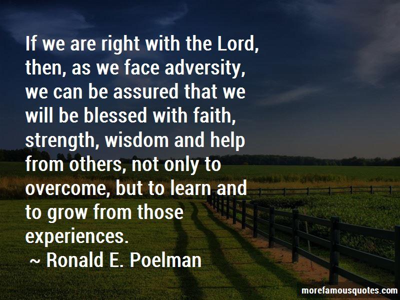 Ronald E. Poelman Quotes Pictures 2