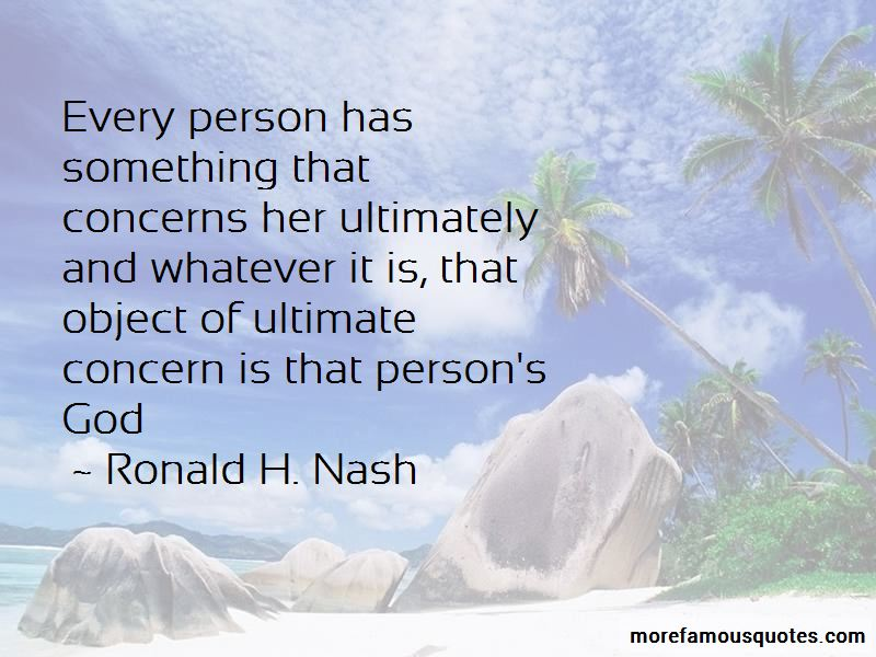Ronald H. Nash Quotes Pictures 2
