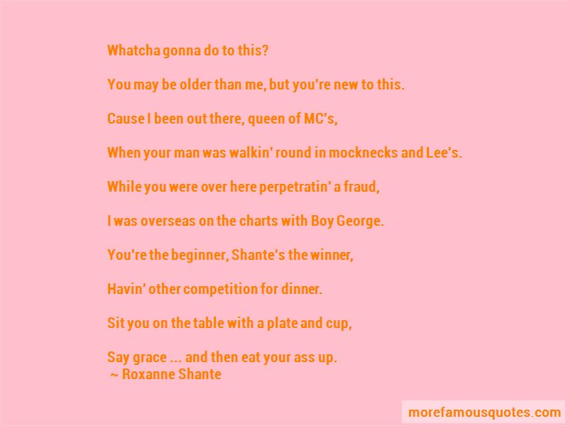 Roxanne Shante Quotes Pictures 2