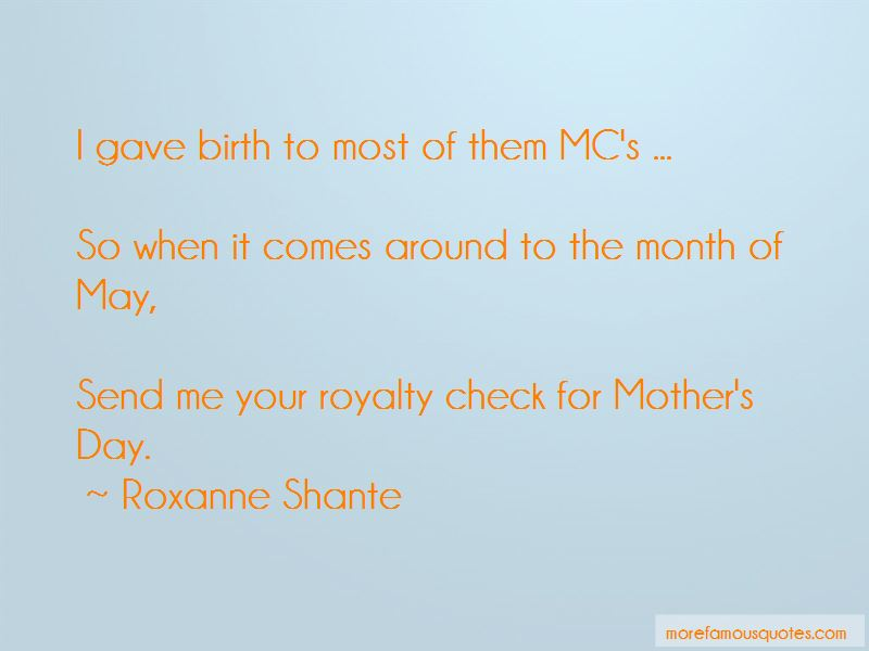 Roxanne Shante Quotes