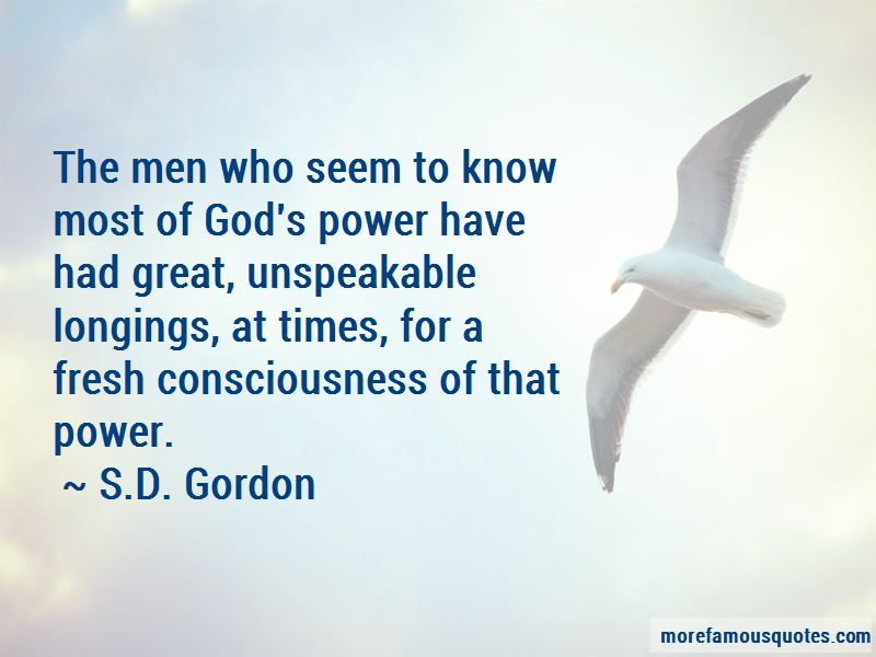 S.D. Gordon Quotes Pictures 3