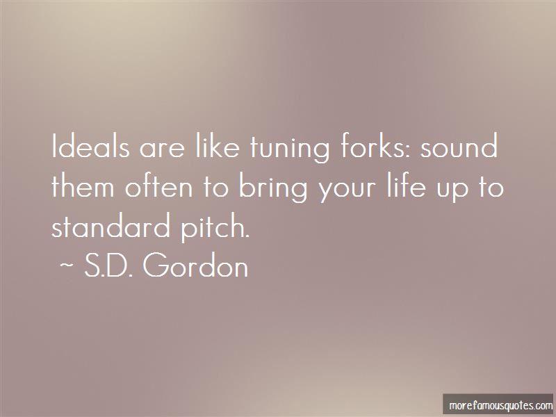 S.D. Gordon Quotes