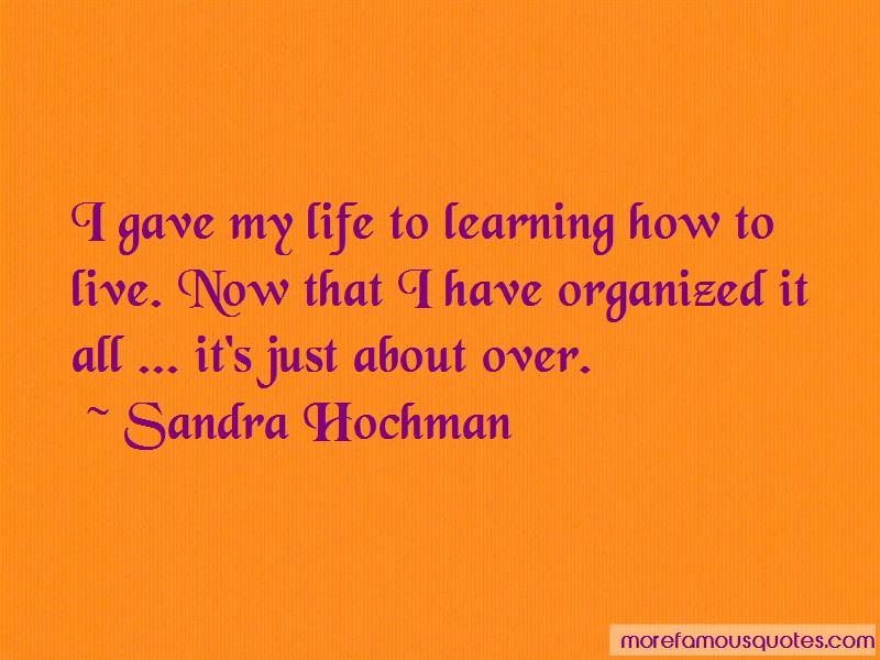 Sandra Hochman Quotes Pictures 2