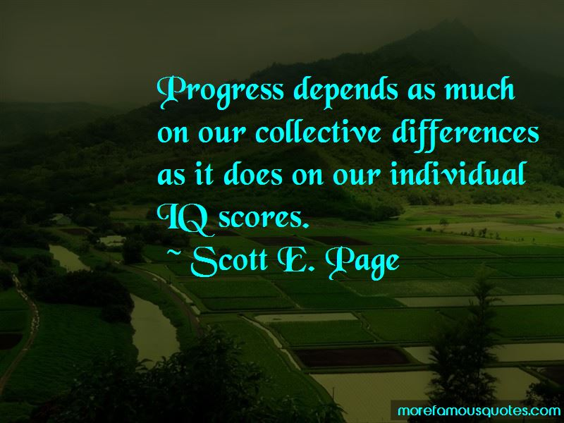 Scott E. Page Quotes Pictures 2