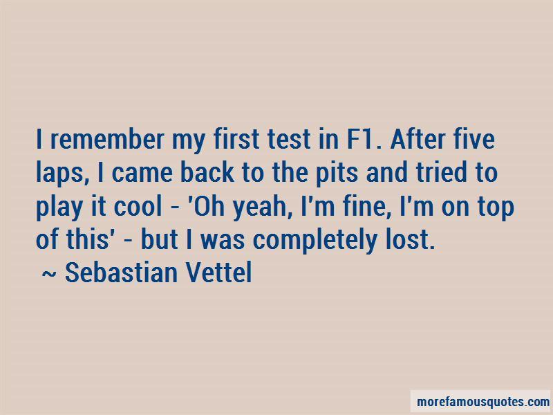 Sebastian Vettel Quotes Pictures 3