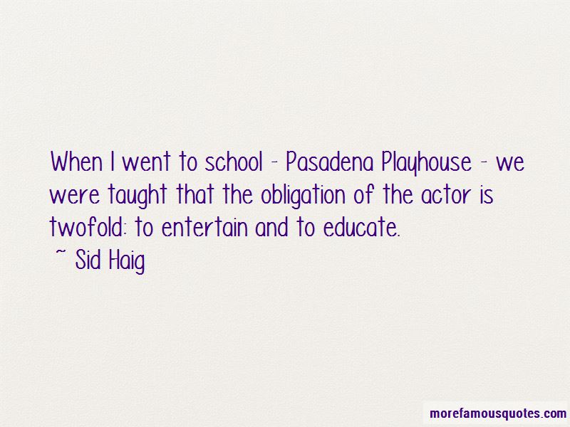 Sid Haig Quotes