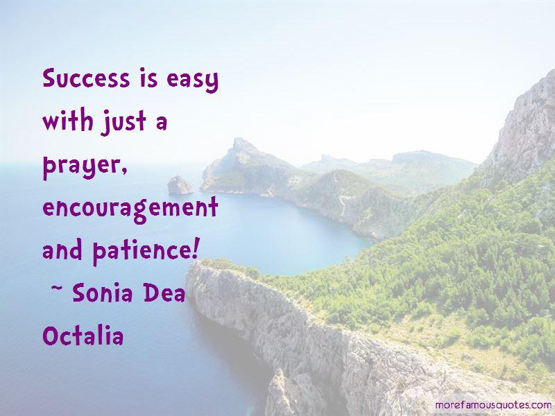 Sonia Dea Octalia Quotes