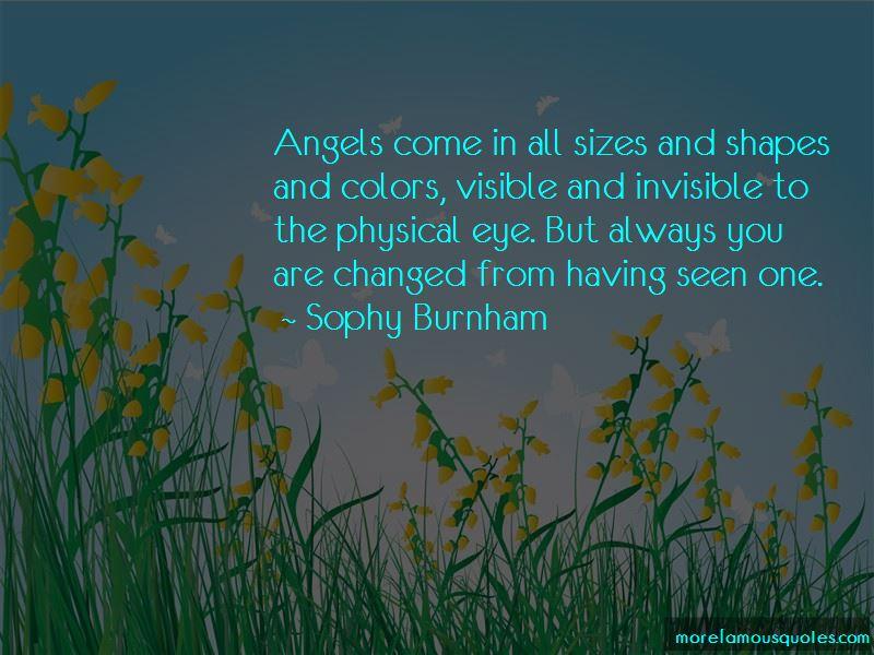 Sophy Burnham Quotes Pictures 2