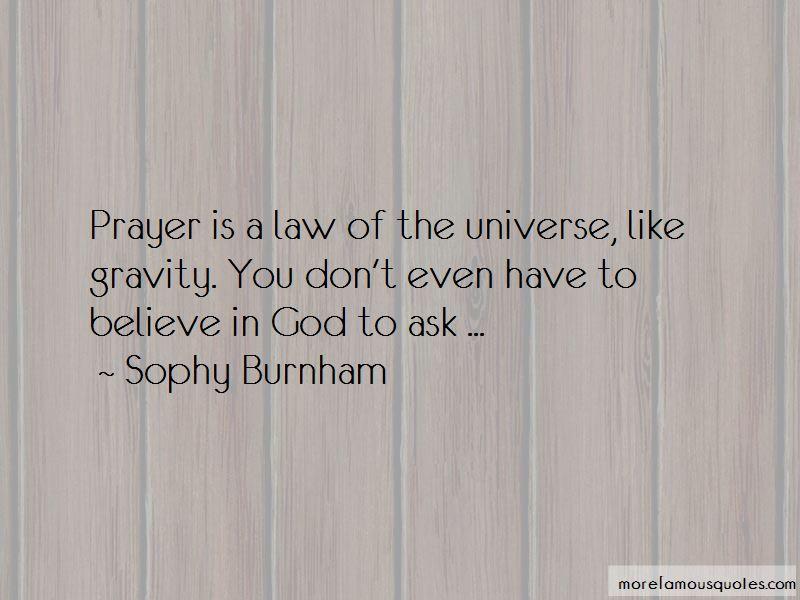 Sophy Burnham Quotes Pictures 4