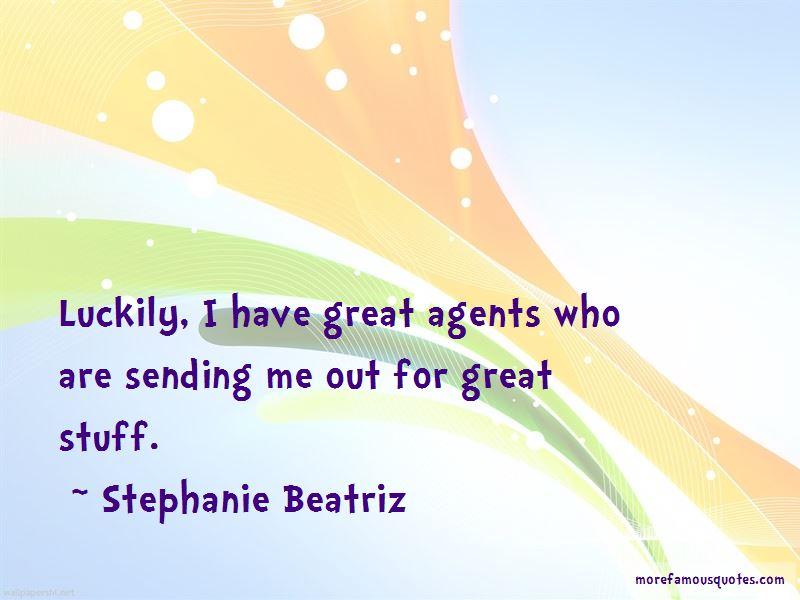 Stephanie Beatriz Quotes Pictures 3
