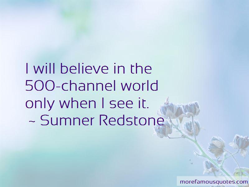 Sumner Redstone Quotes