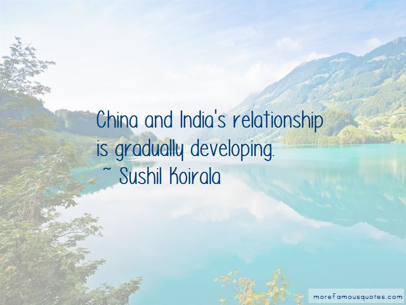 Sushil Koirala Quotes Pictures 2