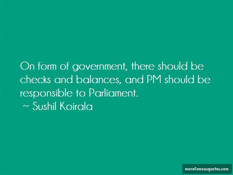 Sushil Koirala Quotes