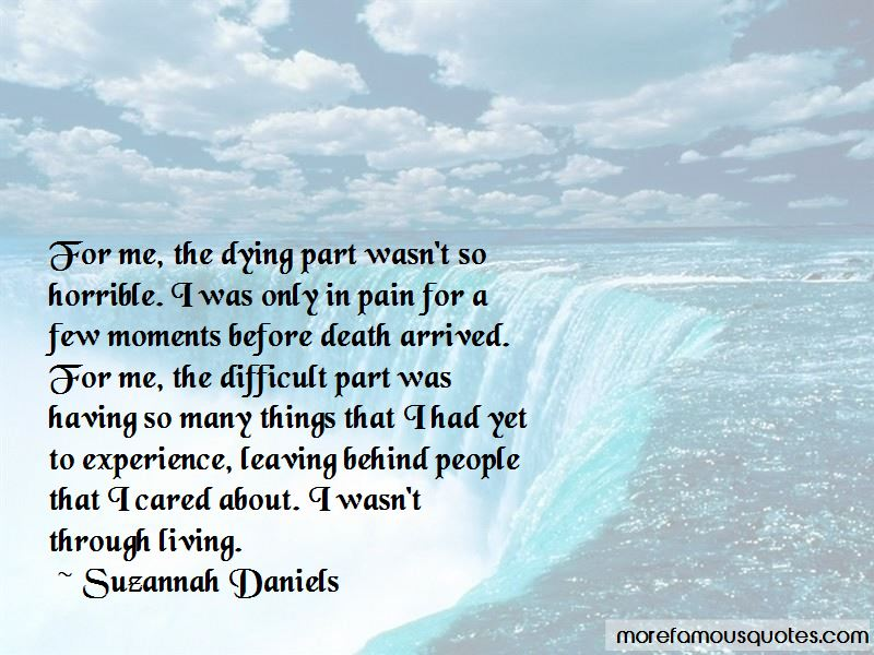 Suzannah Daniels Quotes Pictures 2