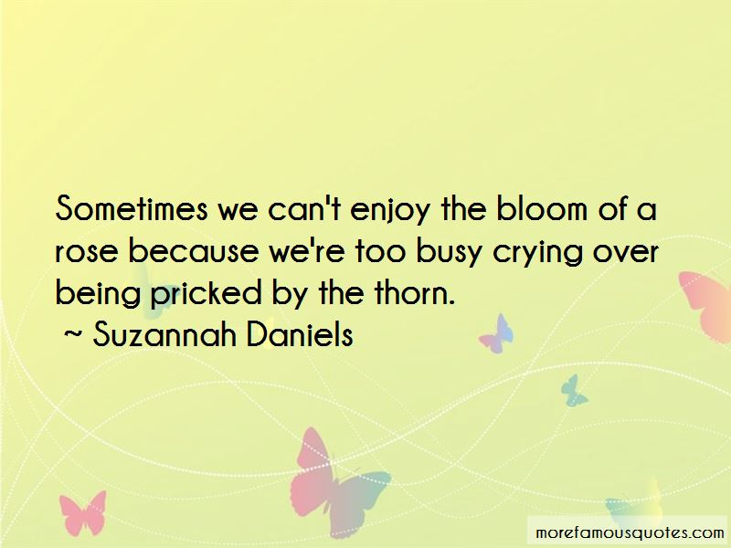 Suzannah Daniels Quotes Pictures 3