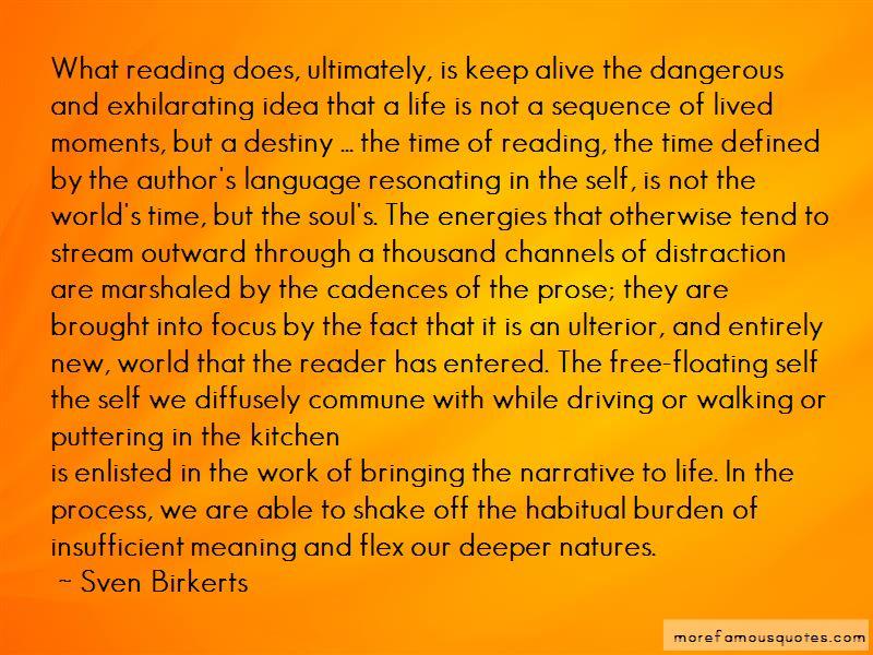 Sven Birkerts Quotes Pictures 3