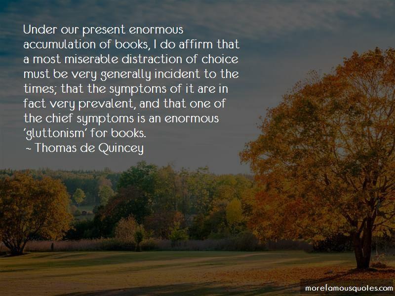 Thomas De Quincey Quotes