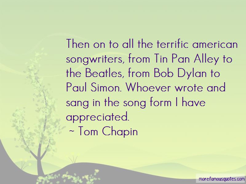 Tom Chapin Quotes Pictures 2
