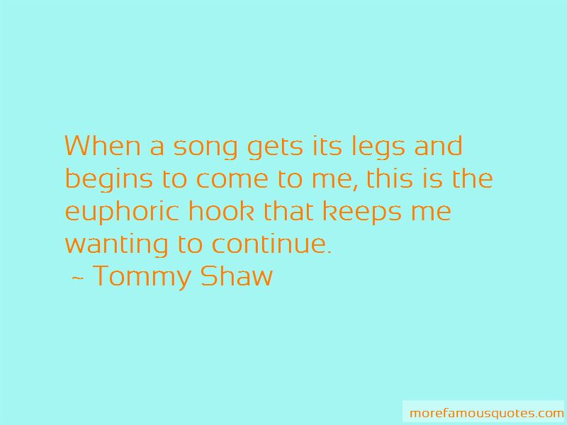 Tommy Shaw Quotes Pictures 3