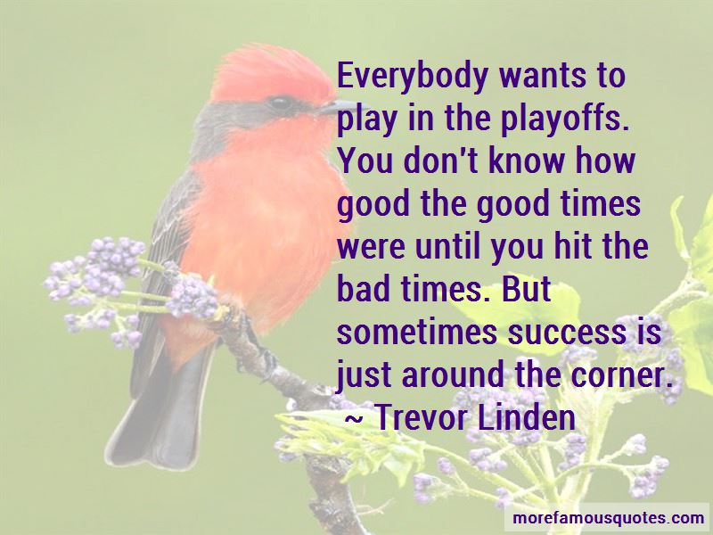 Trevor Linden Quotes Pictures 4