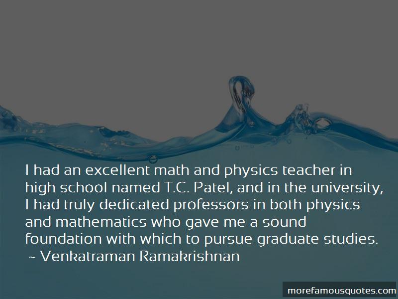 Venkatraman Ramakrishnan Quotes Pictures 4