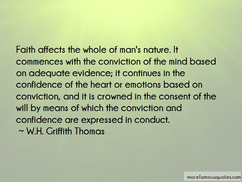 W.H. Griffith Thomas Quotes