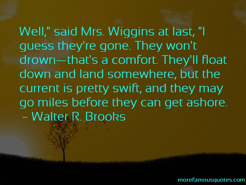 Walter R. Brooks Quotes Pictures 4