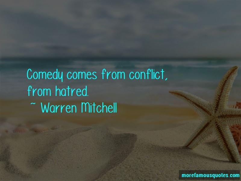 Warren Mitchell Quotes Pictures 2