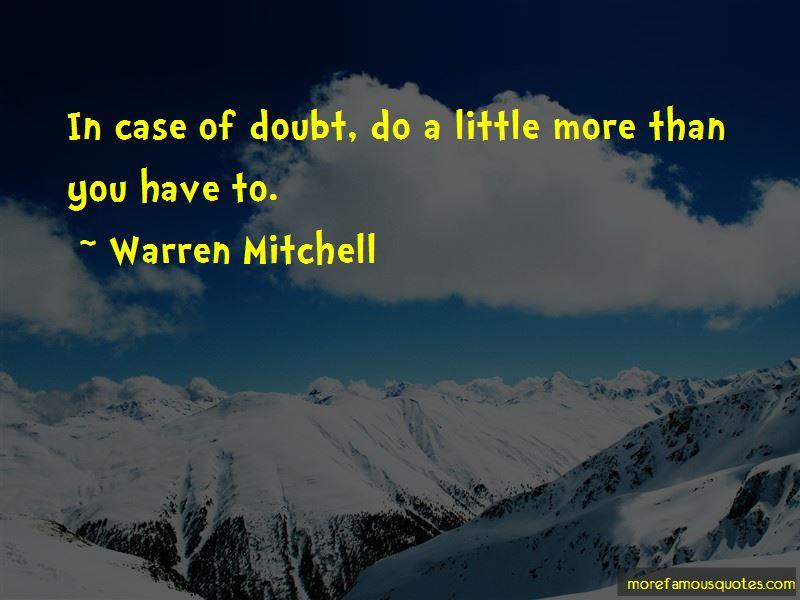 Warren Mitchell Quotes