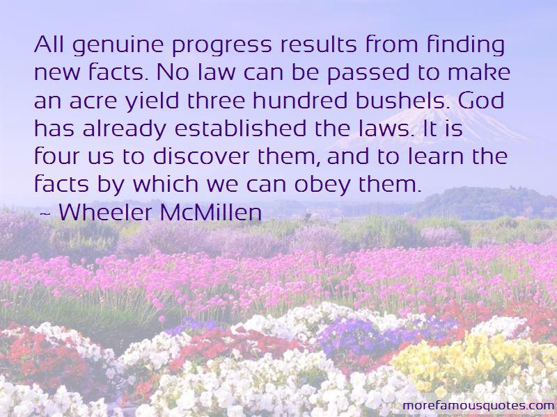 Wheeler McMillen Quotes