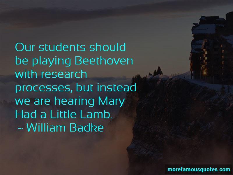 William Badke Quotes Pictures 4