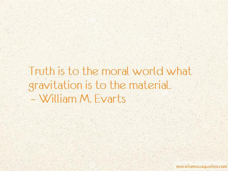 William M. Evarts Quotes Pictures 3