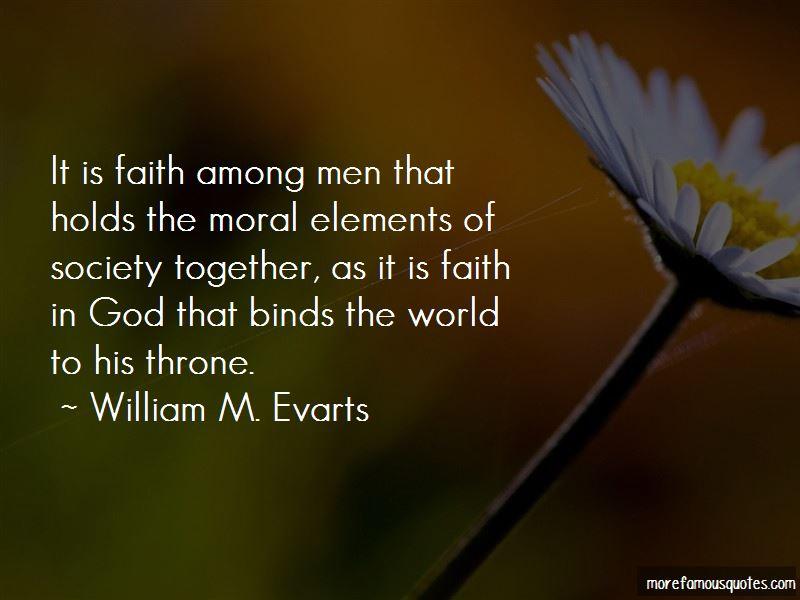 William M. Evarts Quotes